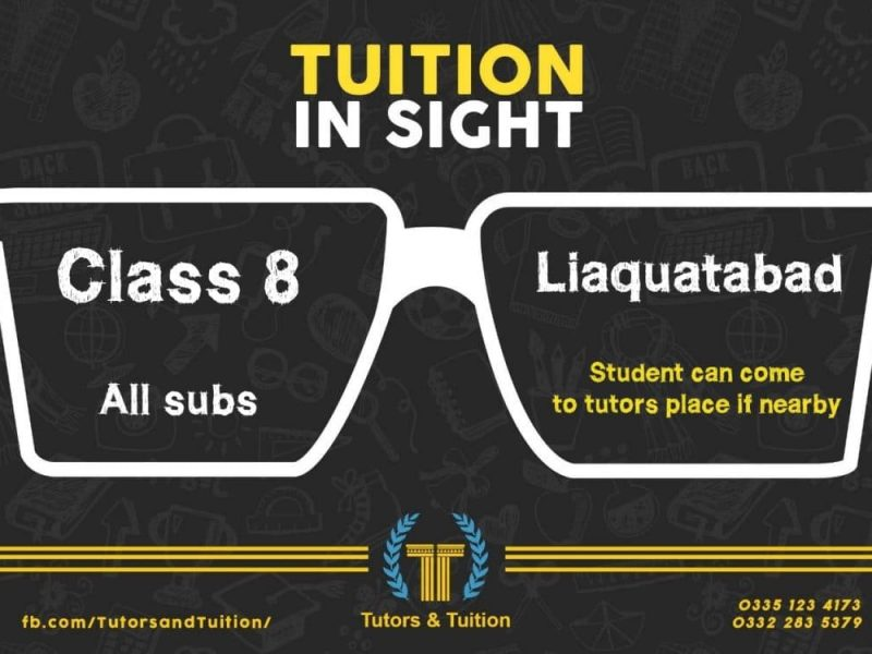 Tutor required for primary level students in Tutors and Tuition