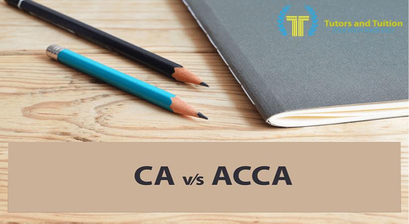 CA vs ACCA